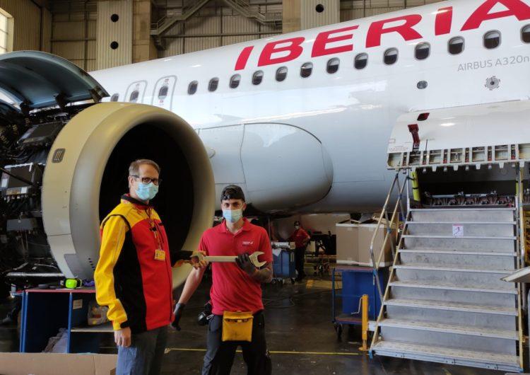 Iberia Mantenimiento y DHL unen fuerzas