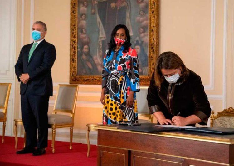 Liderar la reactivación del turismo colombiano, el reto de la nueva Ministra