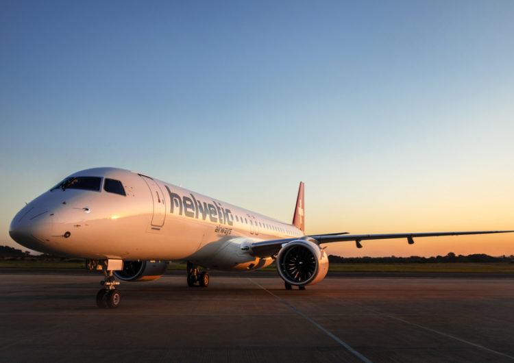 Helvetic Airways recibió su primer Embraer E195-E2