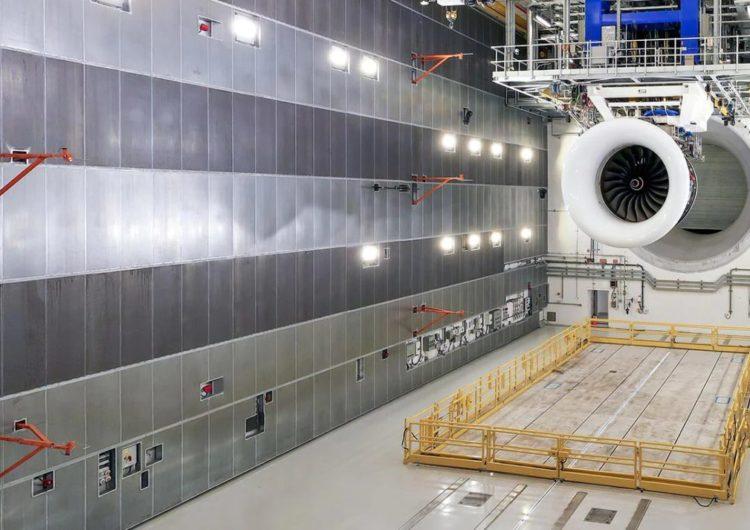 Rolls-Royce inaugura el banco de pruebas aeroespacial de interior más grande del mundo
