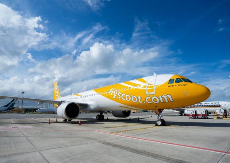 La aerolínea Scoot recibe sus primeros A321neo