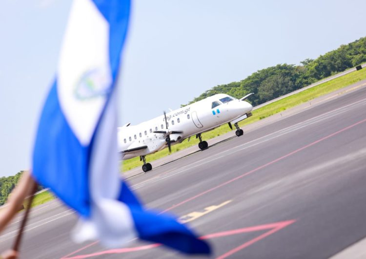TAG inauguró sus vuelos entre Tegucigalpa y El Salvador