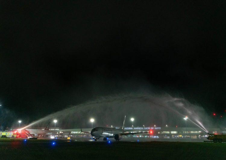 American Airlines inaugura tercera frecuencia diaria en el aeropuerto de Quito
