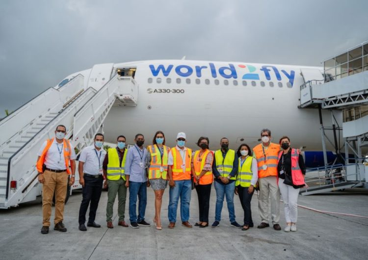 World2Fly escoge a Punta Cana para el lanzamiento como aerolínea de larga distancia