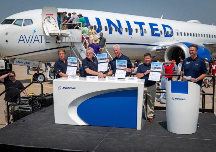 Boeing colaborará en la formación de los futuros pilotos de United
