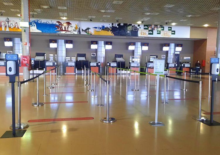 Otros 11 aeropuertos de Aena logran la certificación de «aeropuerto seguro»