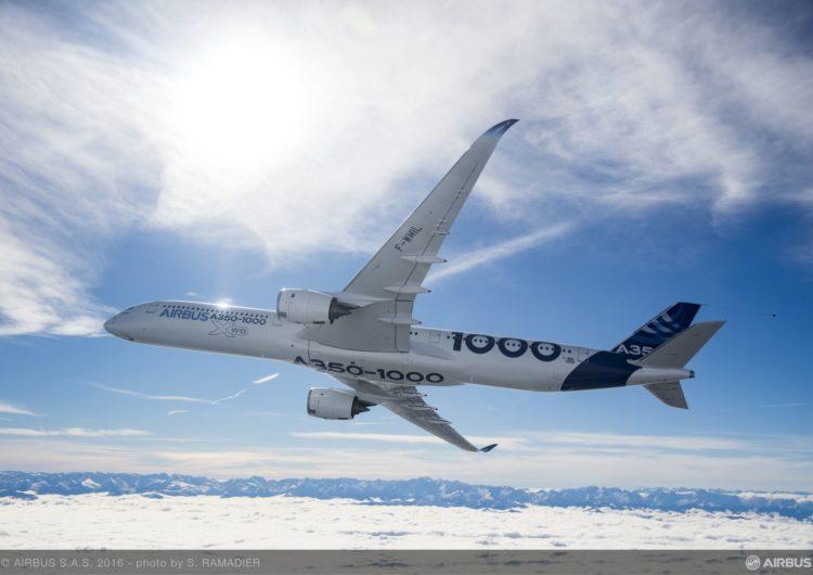 Airbus exhibirá el A350-1000 por primera vez en Rusia