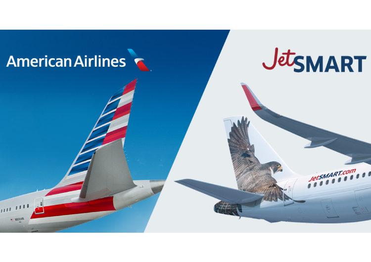 American Airlines y JetSMART firman carta de intención para crear la red de rutas más amplia de las Américas