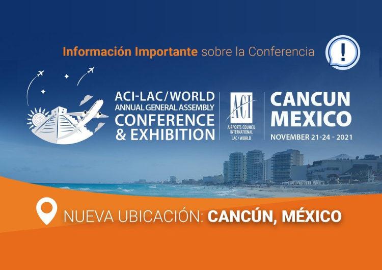 Asamblea General de ACI será en Cancún
