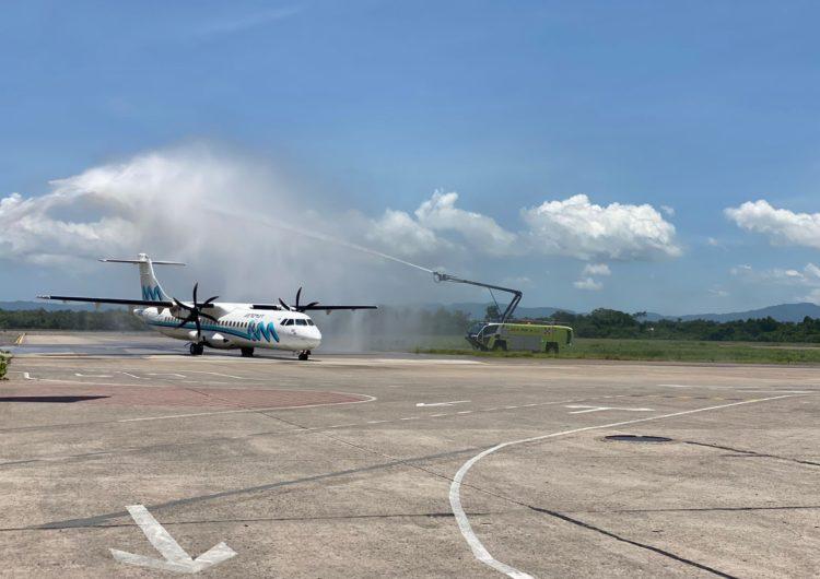 México: Puerto Vallarta le da la bienvenida al nuevo vuelo proveniente de Monterrey vía San Luis Potosí operado por Aeromar