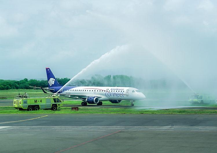 Reactiva Aeroméxico sus vuelos a Nicaragua
