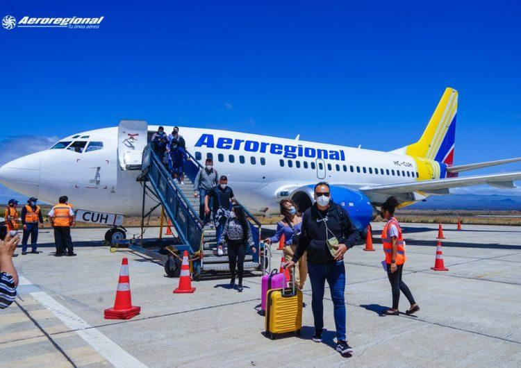 Nueva ruta aérea en Ecuador une a Quito, Guayaquil y Galápagos