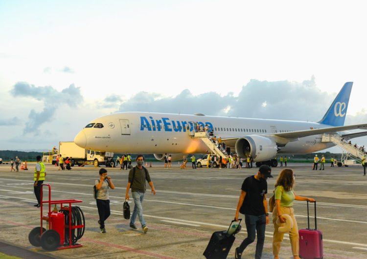 Air Europa enlaza por primera vez Madrid-Samaná