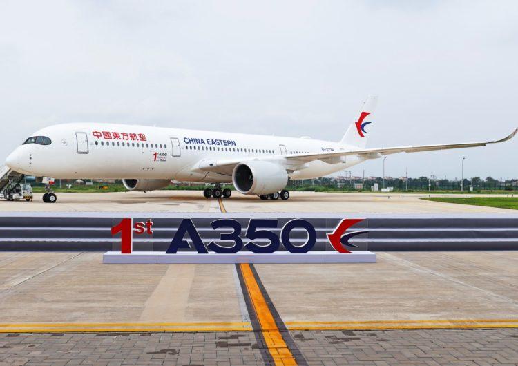 Airbus entrega el primer A350 desde su centro de terminación y entrega de fuselaje ancho en China