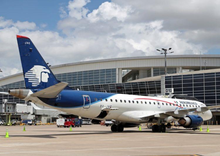 Aeroméxico aterriza en el Aeropuerto DFW