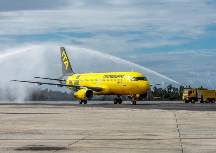 Salvador Bahia Airport recebe novo voo da ITA Transportes Aéreos