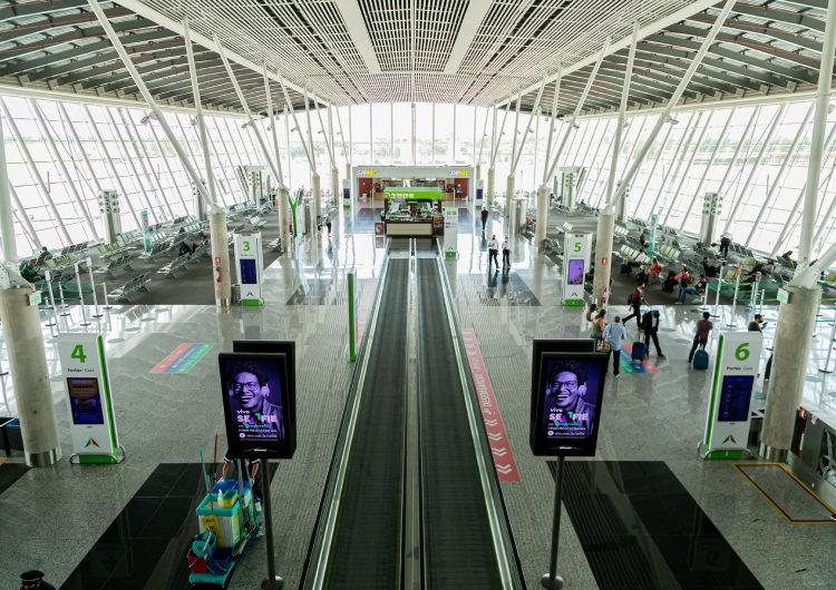Aeroporto de Brasília fecha 1º semestre com movimento um pouco maior que 2020