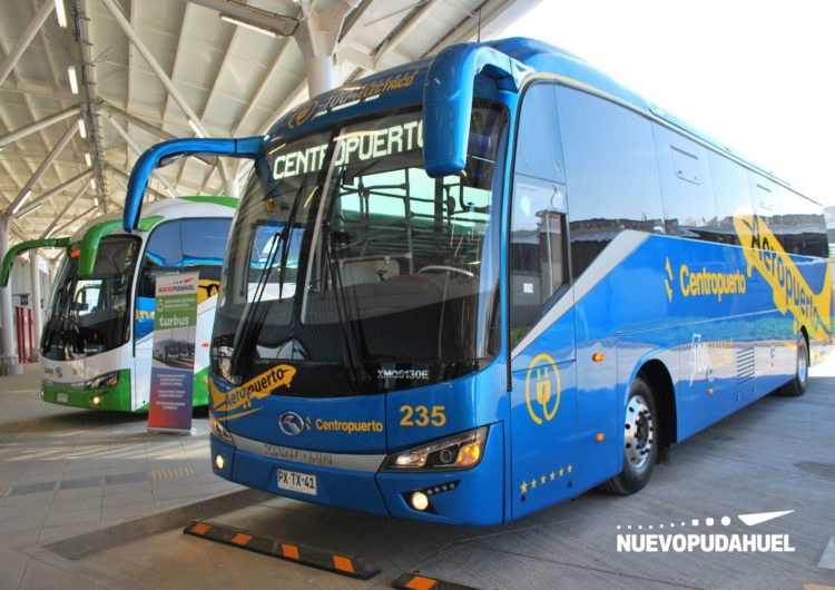 Chile: Nuevo Pudahuel incorpora nueva flota de buses de pasajeros para el aeropuerto de Santiago