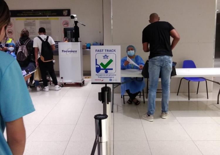 Aeropuerto de Tocumen estableció una vía rápida para los pasajeros que llegan con el Travel Pass de IATA