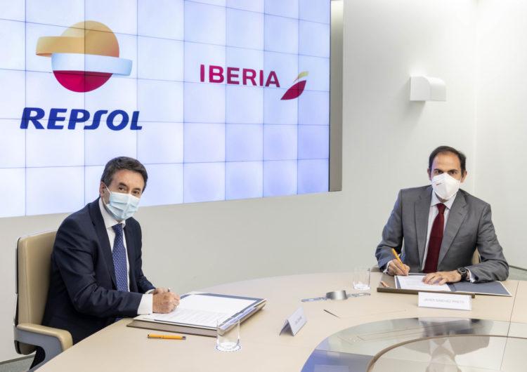 Repsol e Iberia firman un convenio para avanzar hacia una movilidad más sostenible
