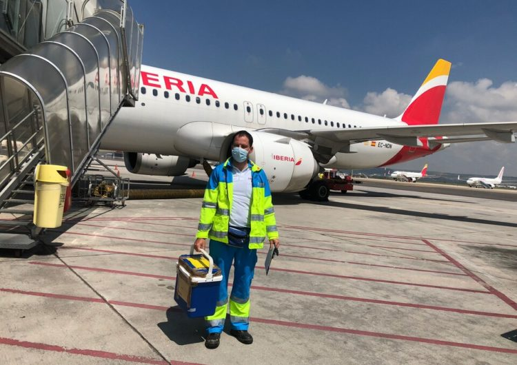 El Grupo Iberia transportó 88 órganos para trasplantes en 2020