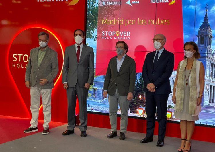 Ayuntamiento e Iberia reactivan Stopover Hola Madrid