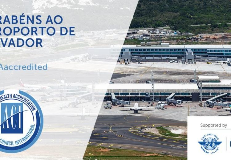 Salvador Bahia Airport is the first in the northeast region of Brazil to obtain the sanitary certification from Airports Council International