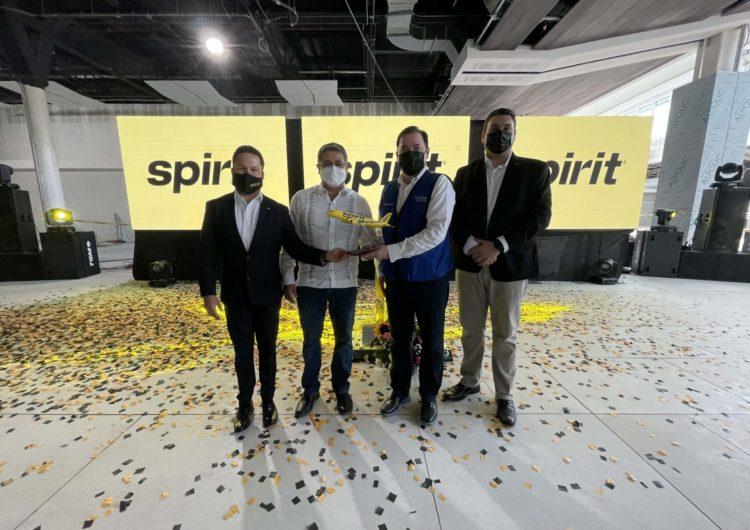 Spirit Airlines es la primera aerolínea en anunciar vuelos desde el nuevo Aeropuerto Internacional de Palmerola