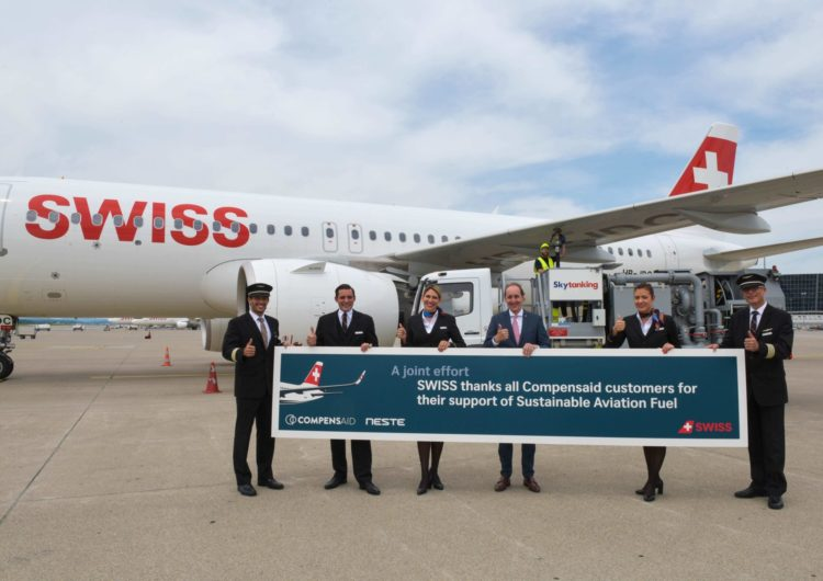SWISS Brings Sustainable Aviation Fuels To Switzerland
