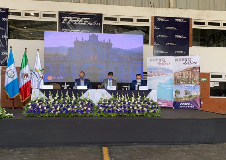 TAG Airlines conectará a Guatemala con Tapachula y Cancún