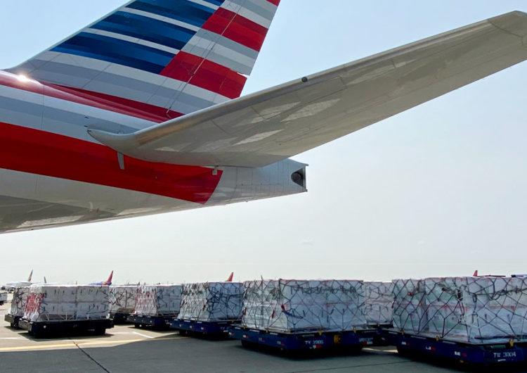 American Airlines transporta 3 millones de vacunas adicionales por parte del Equipo de Respuesta COVID-19 de la Casa Blanca