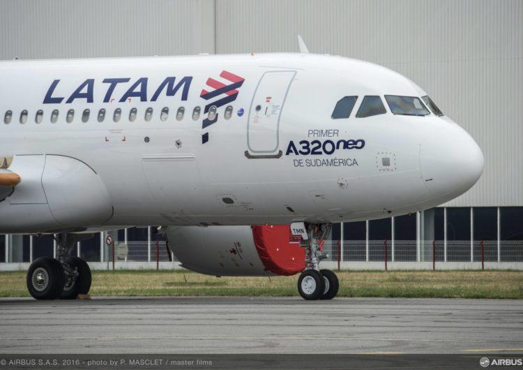 Grupo LATAM moderniza su flota tras acuerdo de compra de aviones de la familia A320neo