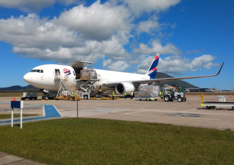 LATAM Cargo movimenta 650 toneladas no primeiro ano da rota cargueira Miami-Florianópolis e avalia expandir a operação