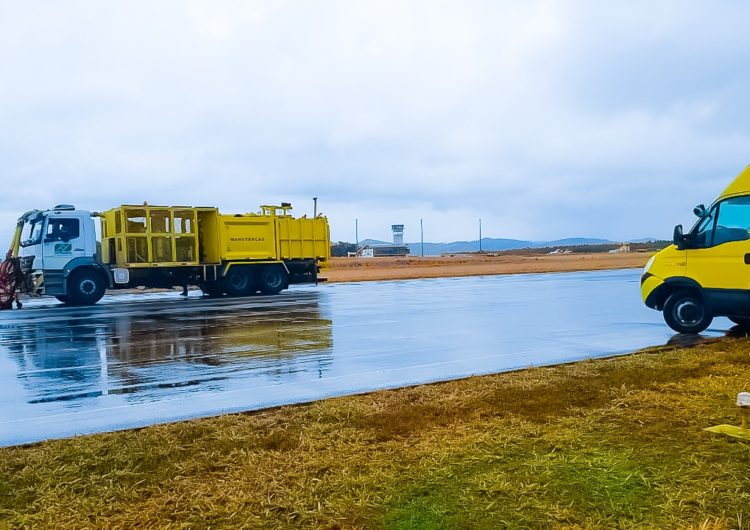 Infraero conclui manutenção em pista do Aeroporto de Jaguaruna II