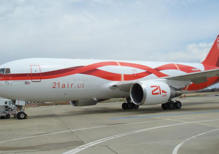 CargoJet cierra inversión minoritaria en una nueva compañía de carga: 21Air