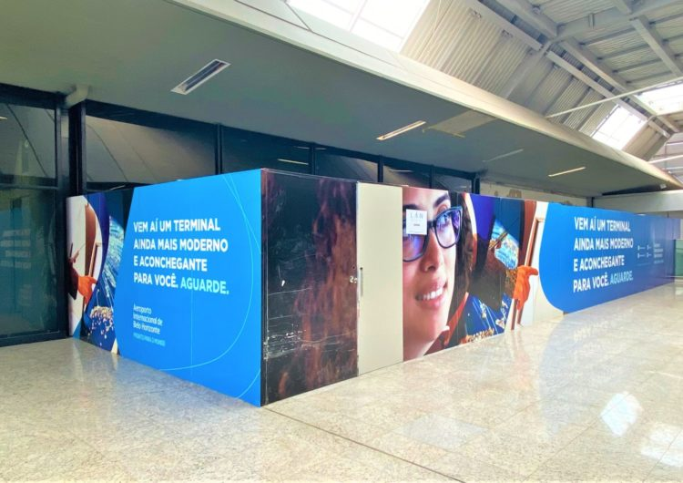 Aeroporto Internacional de BH acelera reforma do terminal de passageiros 1