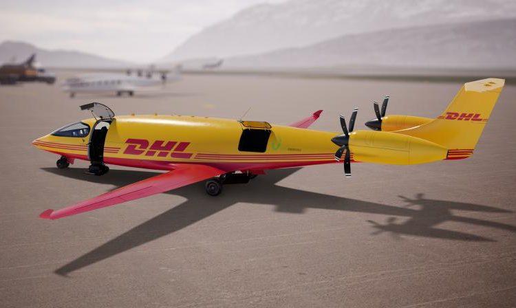 DHL encarga a Eviation 12 aviones de carga Alice totalmente eléctricos