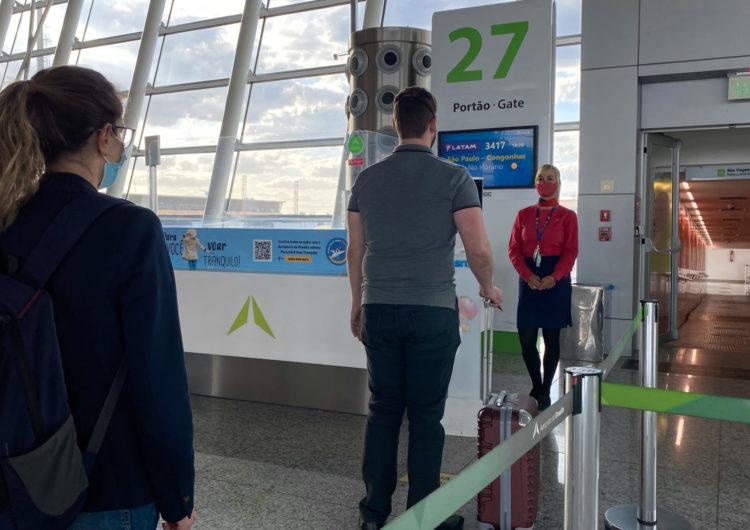 LATAM realiza o primeiro embarque oficial com reconhecimento facial do aeroporto de Brasília
