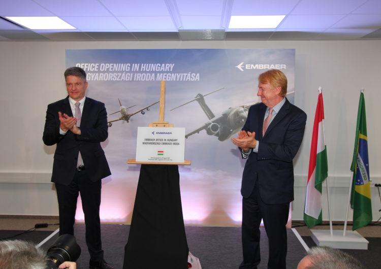 Embraer abre una oficina en Hungría