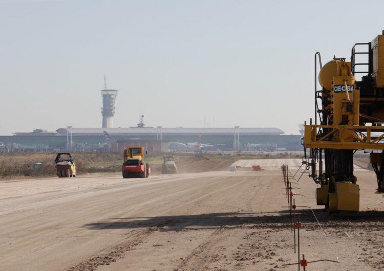 Argentina: Avanzan obras en pista en el aeropuerto de Ezeiza