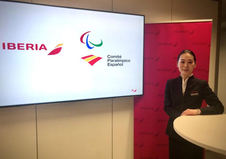 Iberia llevará a Tokio al Equipo Paralímpico Español