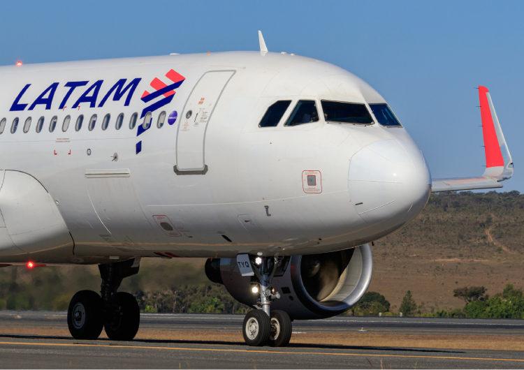 LATAM acelera crescimento com 7 novos destinos no Brasil no primeiro trimestre de 2022
