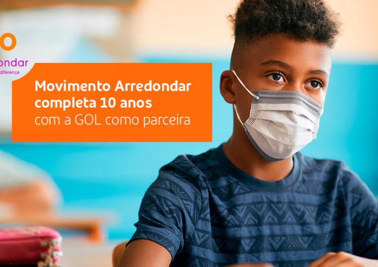 Instituto GOL celebra 2 anos de parceria com o Movimento Arredondar
