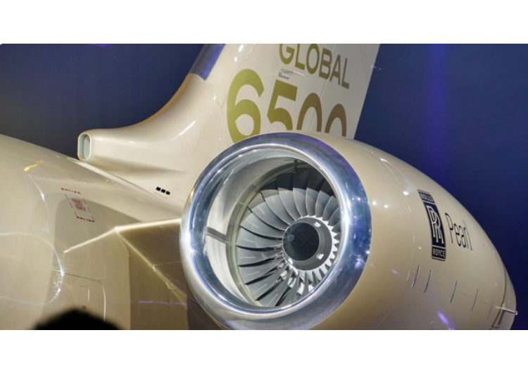 Rolls-Royce ya entregó 100 motores Pearl 15 a Bombardier