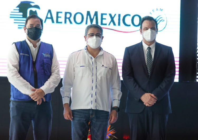 Aeroméxico tendrá vuelos directos entre Ciudad de México y Tegucigalpa, Honduras