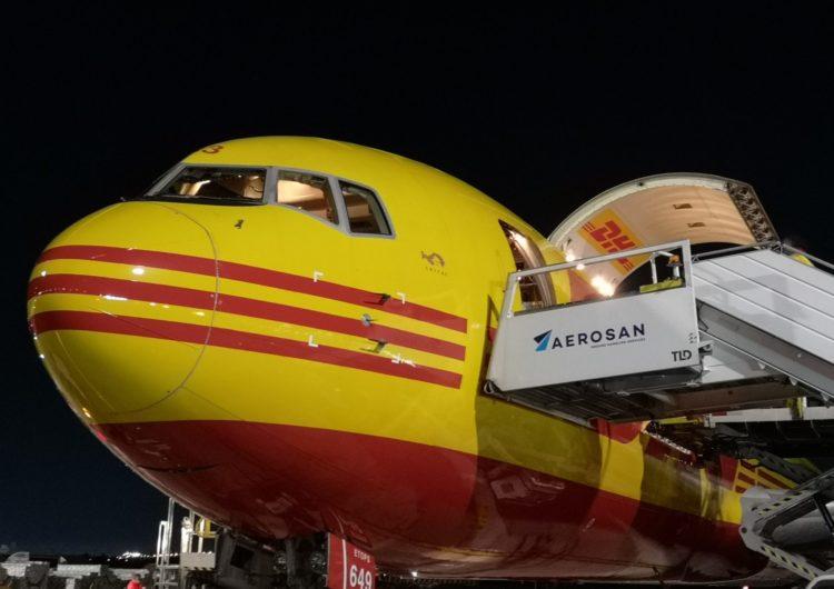 Chile: Aerosan cierra alianza con DHL Aviation para la atención de sus cargueros