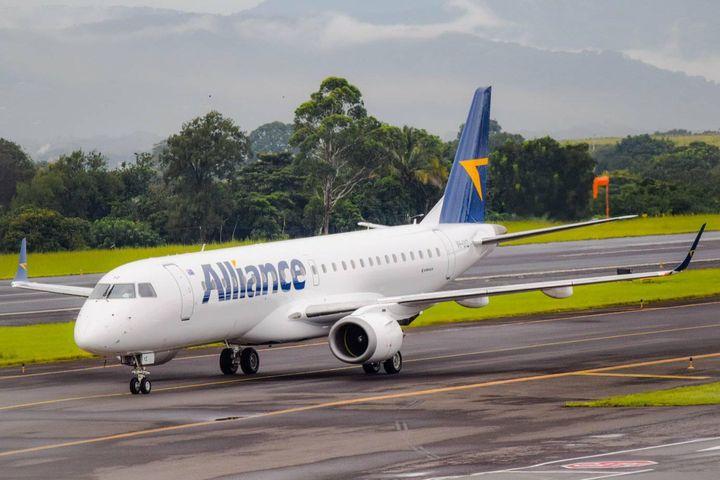 Embraer proporcionará soporte para la flota de E190 de Alliance Airlines