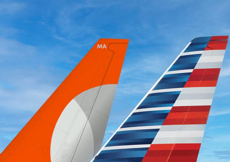 GOL y American Airlines pasan a tener un acuerdo exclusivo de código compartido