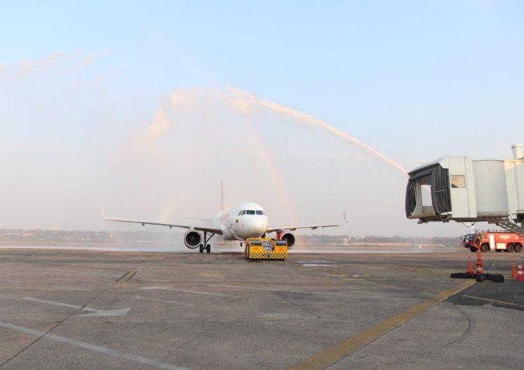 Avianca reinició sus vuelos entre Bogotá y Asunción
