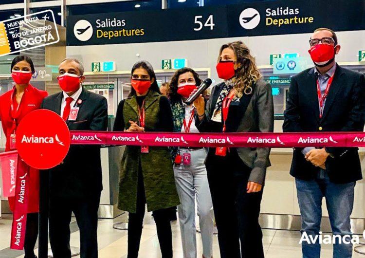 Avianca reactiva vuelos desde Bogotá hacia Río de Janeiro